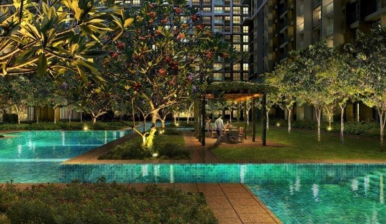 Vasant Oasis- Swimming Pool View