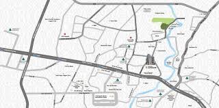 Crescent Landmark-Location Map