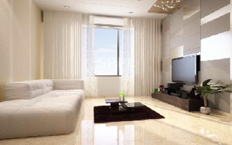 Crescent Landmark-living room