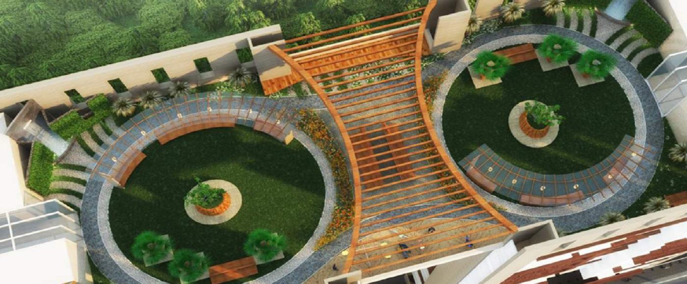 Aaradhya Nine-Garden Area