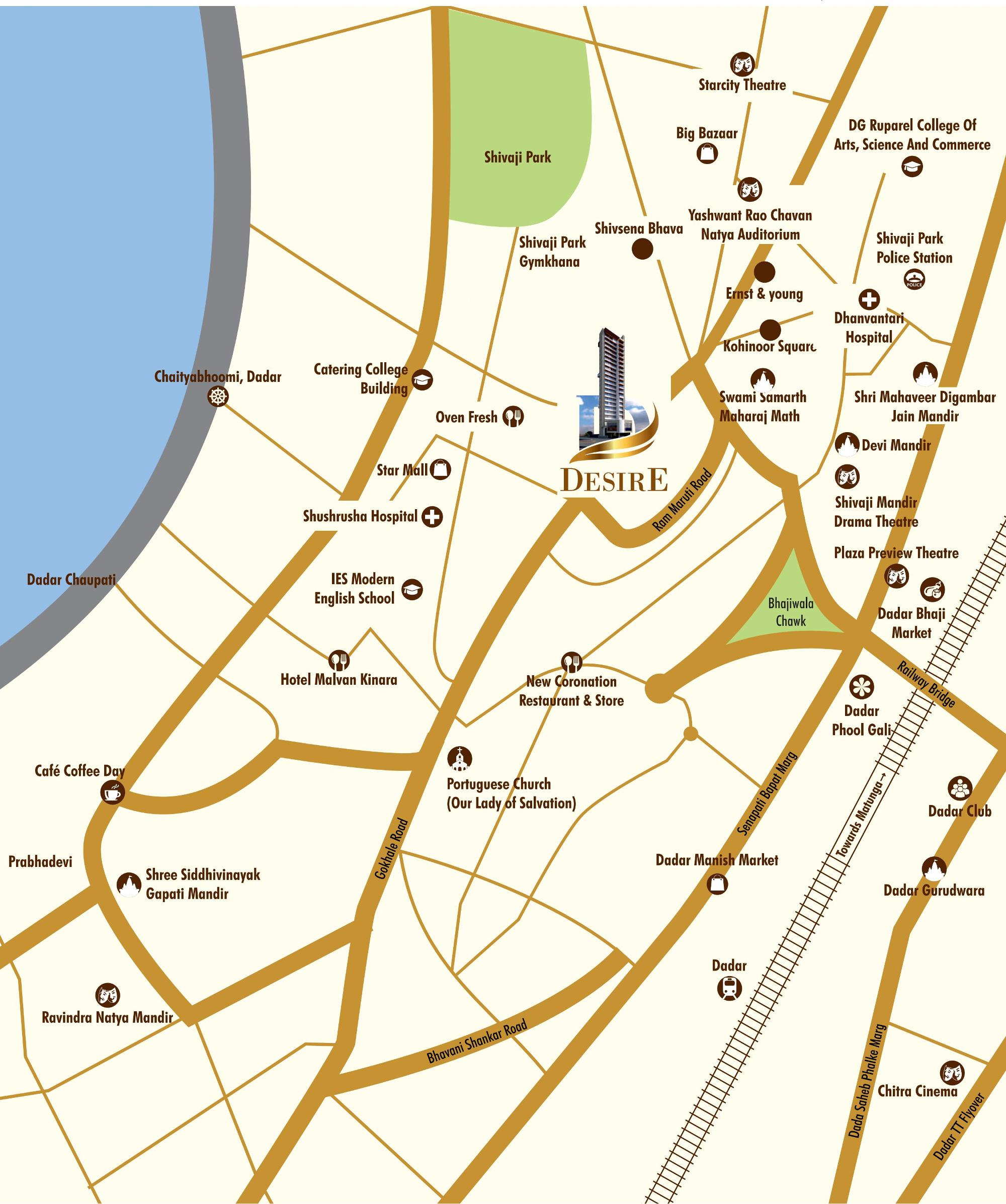Dotom Desire - Location Map