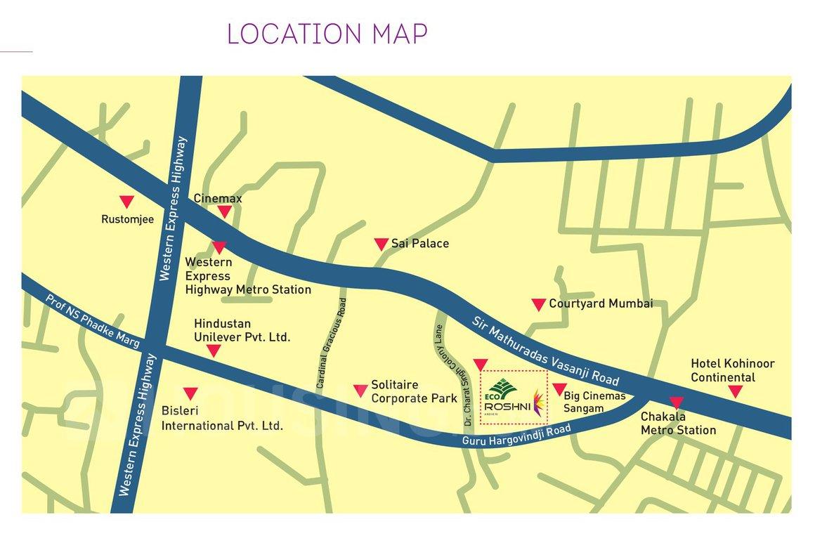 Eco Roshni - Location Map