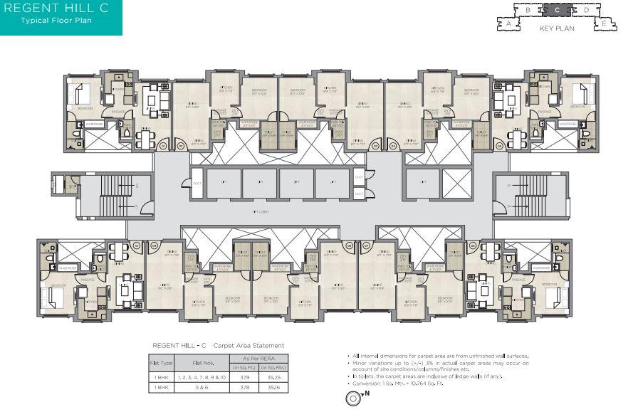 Hiranandani Regent Hill, Cliff Avenue, Hiranandani Gardens, Powai, Mumbai, Maharashtra, India
