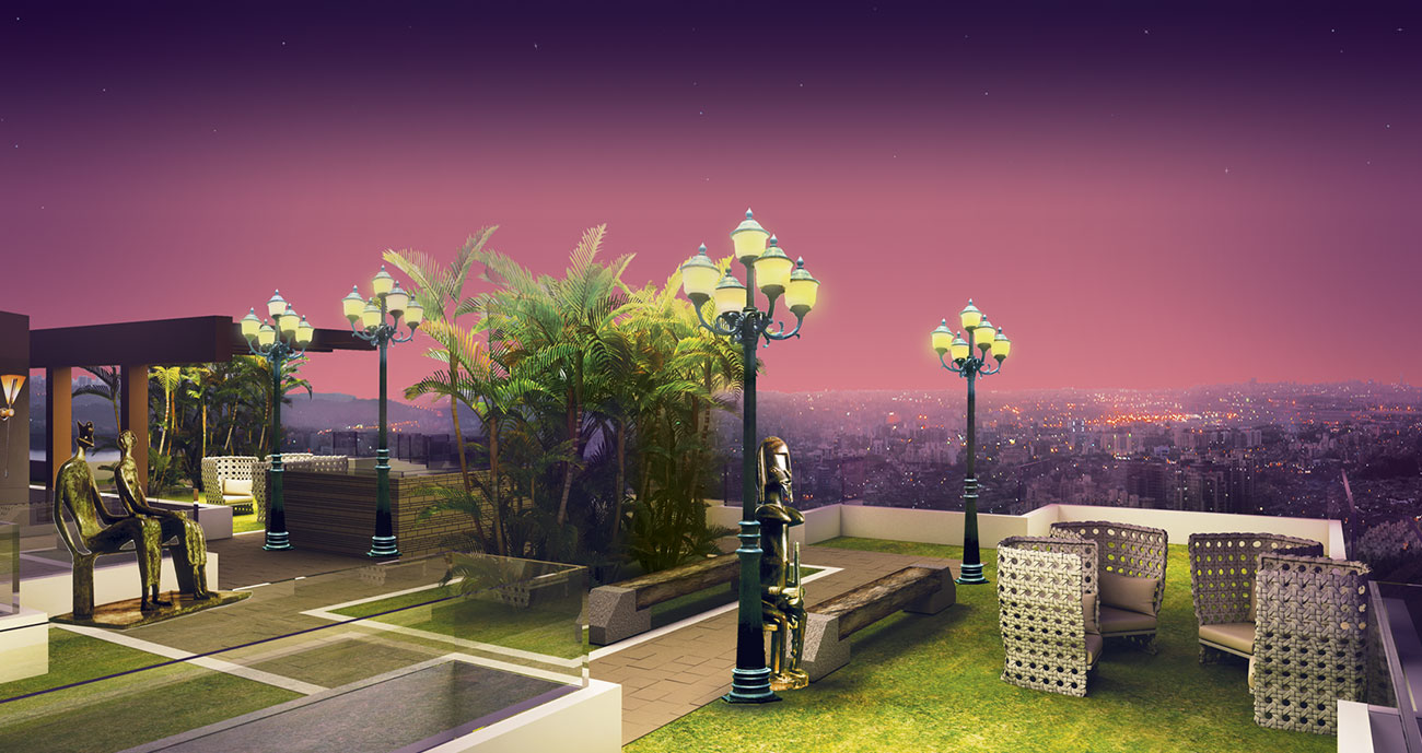 Suparshwa Urbana - Lounge Area