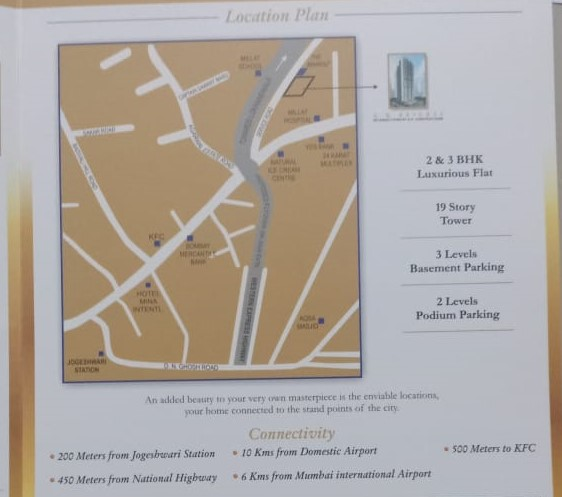 A. H. heights - Location Map