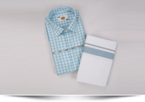Cotton Shirts / Cotton Dhoti Set