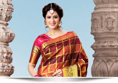 Vipanji Traditional Silk Sarees