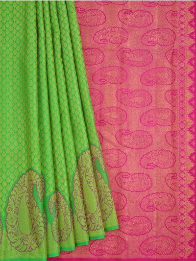 Vivaha Goddess Pure Kanchipuram Silk Saree - NFE6672161