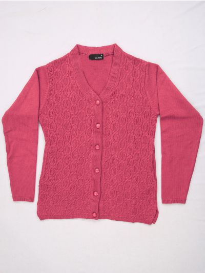 Women's Solid Woolen Sweater - MFB4314081