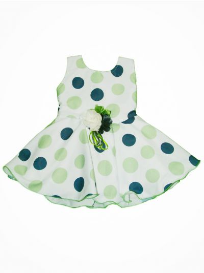 MID6019531 - Girls Fancy Synthetic Frock
