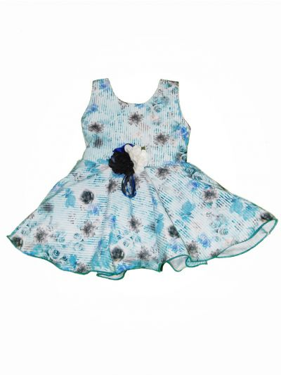 MJB7279874 - Girls Fancy Synthetic Frock