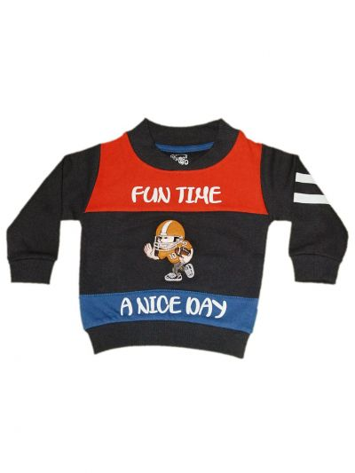 MFB6567302 - Boys Hooded Sweater