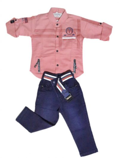 MDC2512832 - Boys Casual Shirt and Pant Set