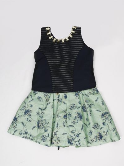 MAD3506718 - Girls Ready Made Fancy  Midi