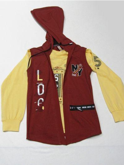 MLC1401923 - Boys Hooded T-Shirt