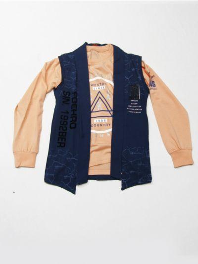 MLC1401875 -  Boys  Hooded T-Shirt
