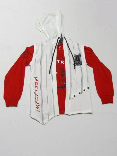 MLC1401792 - Boys Hooded T-Shirt
