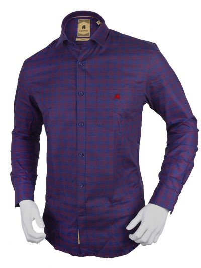 Zulus Festin Men's Formal Full Sleeve Cotton Shirt-TUPMFB2117301