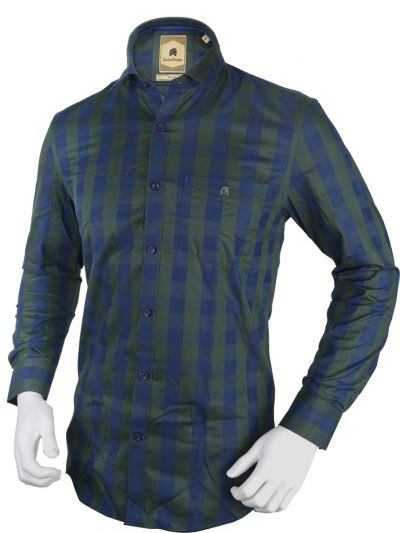Zulus Festin Men's Formal Full Sleeve Cotton Shirt - TUPMEB2117328