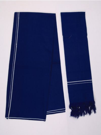 KKV Cotton Devotional Dhoti With Towel - MHA1322703