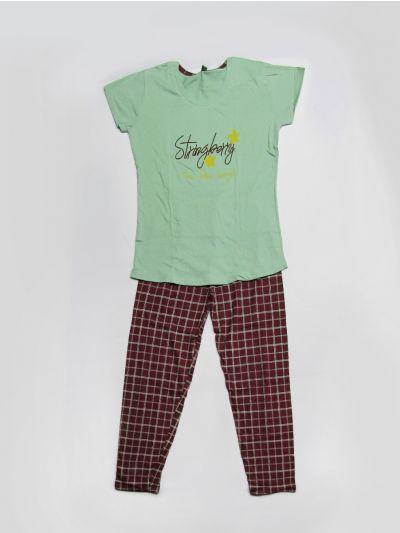Women Cotton Nightwear/Night Suit/Pyjama Set - NCD0472279