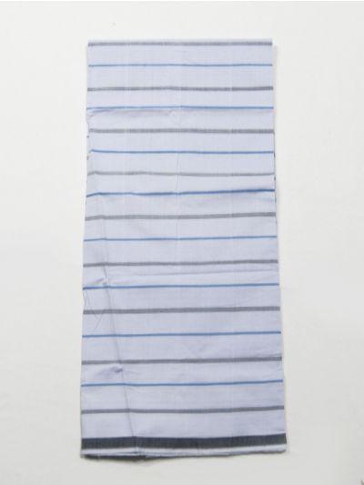 NFD5356006- Men Cotton White Check Lungi