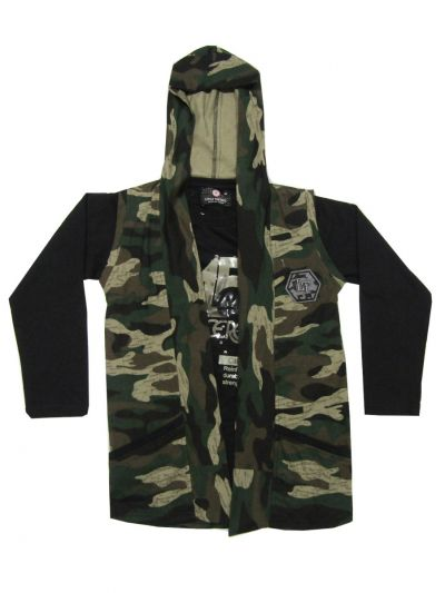 MID4520999 - Boys Hooded T-Shirt