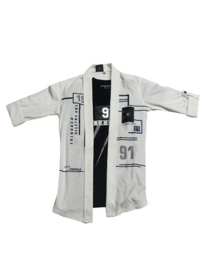 NCC0222043 - Boys Fancy Cotton Shirt
