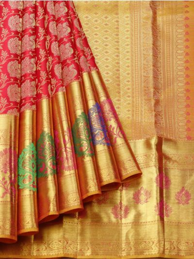 Vivaha Goddess Pure Kanchipuram Silk Saree - NEC2301242