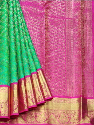 Vivaha Goddess Pure Kanchipuram Silk Saree - NEC2301283