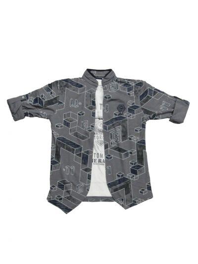 NGB9548653 - Boys Fancy Cotton Shirt