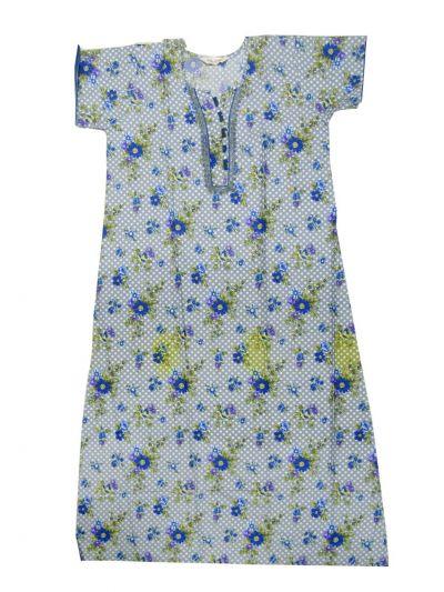 NJB0358282 - Cotton Printed Nighty