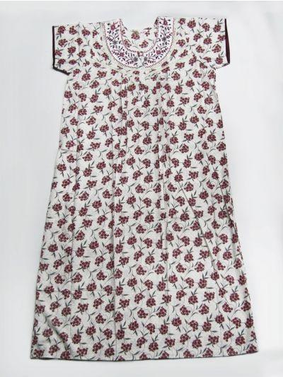 Women's Cotton Nighty / Night Wear - NFD5497116
