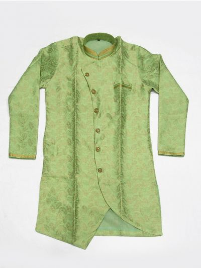 MKC9498064 - Exclusive Silk Jacquard Indo Western Suit