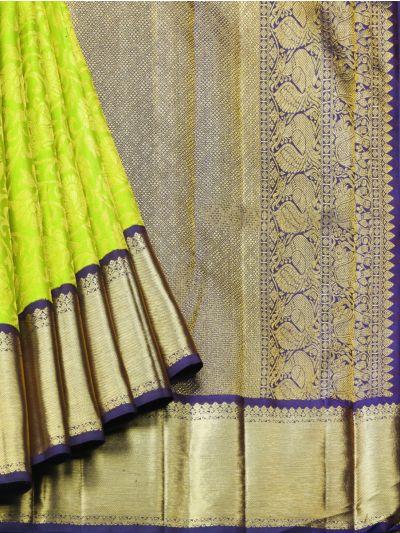 NDB0915901- Vivaha Goddess Kanchipuram Silk Saree