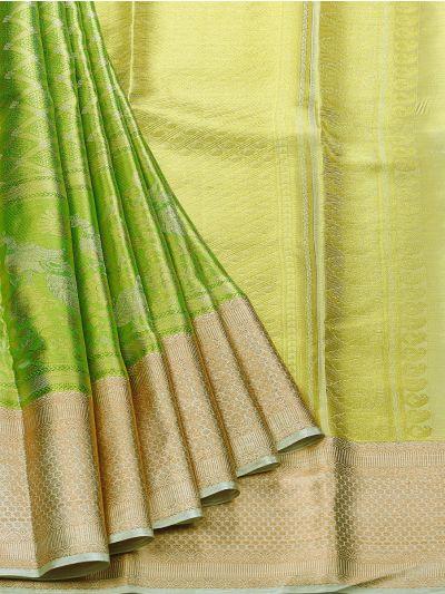 Vivaha Goddess Kanchipuram Silk Saree - NDC1108849