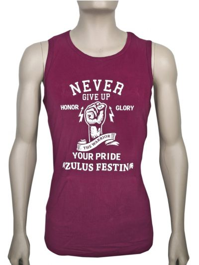 Zulus Festin Men's Cotton Tank Top Vest