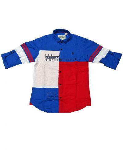 Boys Casual Cotton Shirt - OEC5676158