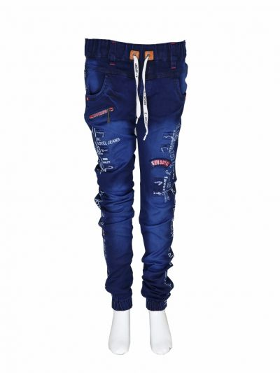 Boys Casual Cotton Trouser - NJD1723286