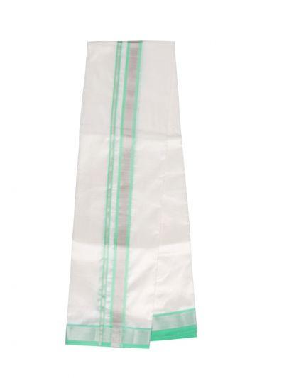 Vivaha Fancy Border Silk Dhoti  - OEA4619823
