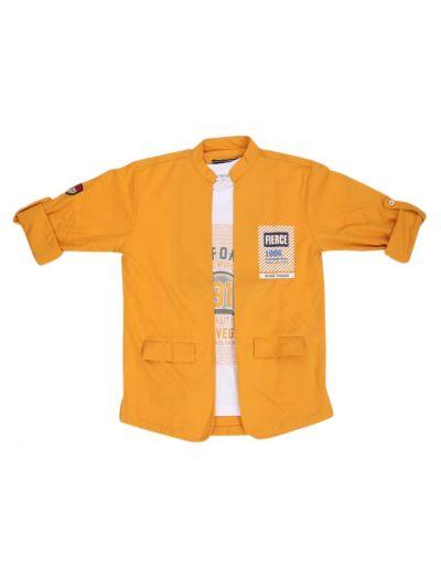 Boys Fancy Casual Shirt  - NGB9548681
