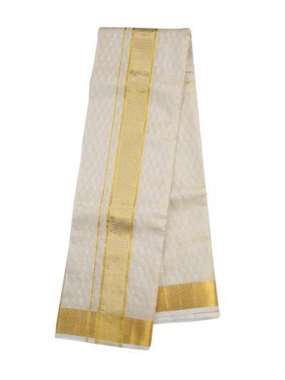 Vivaha Traditional Pure Silk Fancy Border Dhoti - NDC1238616