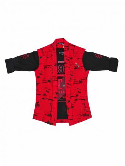 Boys Fancy Casual Shirt  -NGB9548706