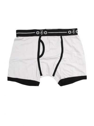 ZF Men's Solid Cotton Trunks - MEB5753717