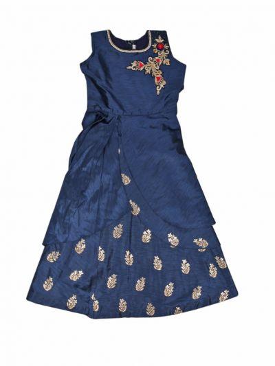 Girls Fancy Long Salwar - MLA0884809