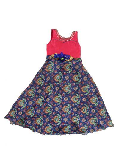 Girls Fancy Long Gown - MKD0212206