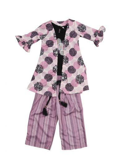 Girls Readymade Western Dress - MLA0444068
