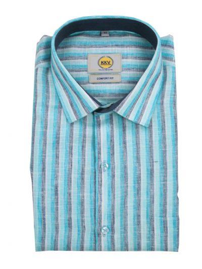 KKV Men's Cotton Readymade Shirt - NEB2040290