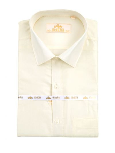 Vivaha Premium Wedding Silk Mix Shirt - ODB2745419