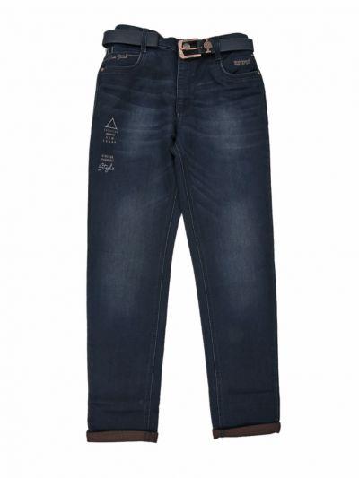 Boys Casual Denim Trouser - ODA2323698